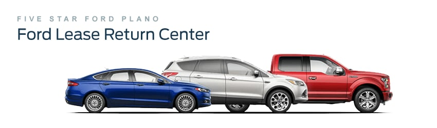 Ford Lease Return Center Near Dallas TX