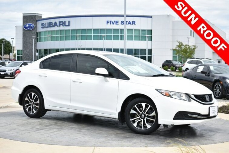 Used 2013 Honda Civic For Sale Grapevine Tx Stock K3334108a