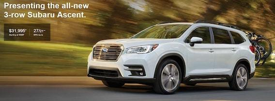 2019 Subaru Ascent Dealer In Dallas Fort Worth Grapevine Tx