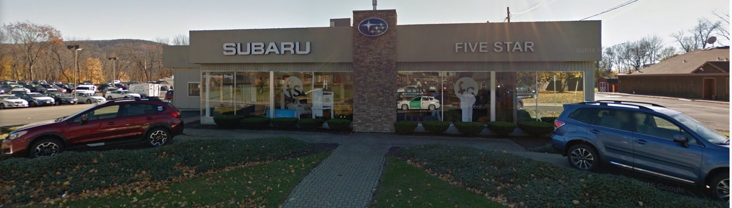 About Five Star Subaru Oneonta | Subaru Dealership Serving