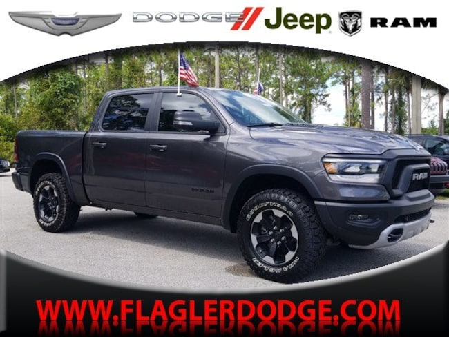 New 2019 Ram 1500 REBEL CREW CAB 4X4 5'7 BOX Crew Cab for sale/lease Palm Coast, FL