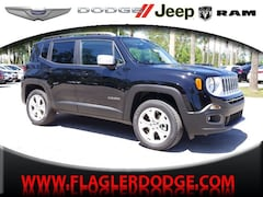 New 2018 Jeep Renegade LIMITED 4X4 Sport Utility for sale in Palm Coast, FL