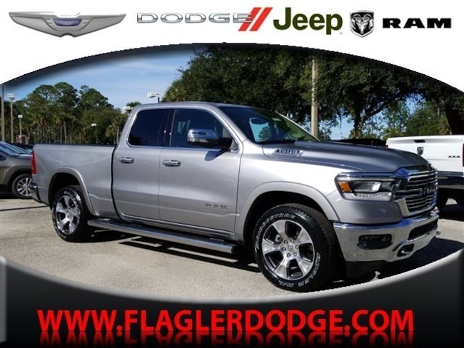 New 2019 Ram 1500 LARAMIE QUAD CAB 4X2 6'4 BOX Quad Cab for sale/lease Palm Coast, FL
