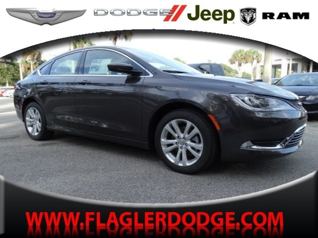Chrysler 200 Lease >> New 2016 Chrysler 200 Limited For Sale Lease In Palm Coast Fl Vin 1c3cccab2gn150294