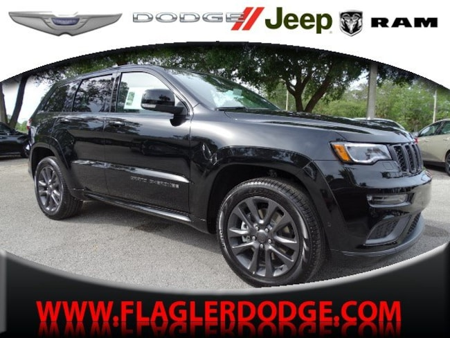 New 2019 Jeep Grand Cherokee HIGH ALTITUDE 4X4 Sport Utility for sale/lease Palm Coast, FL