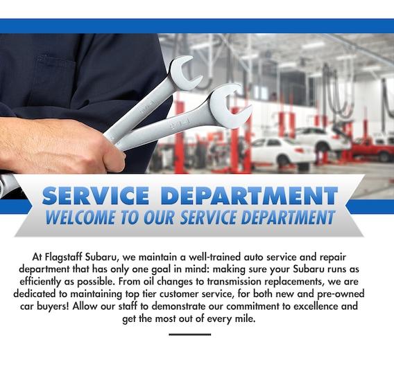 Auto Service & Repair in Flagstaff, AZ   Flagstaff Subaru