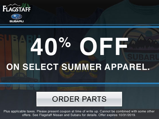 40% OFF On Select Summer Apparel