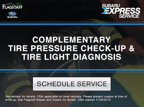 Complementary Tire Pressure Check