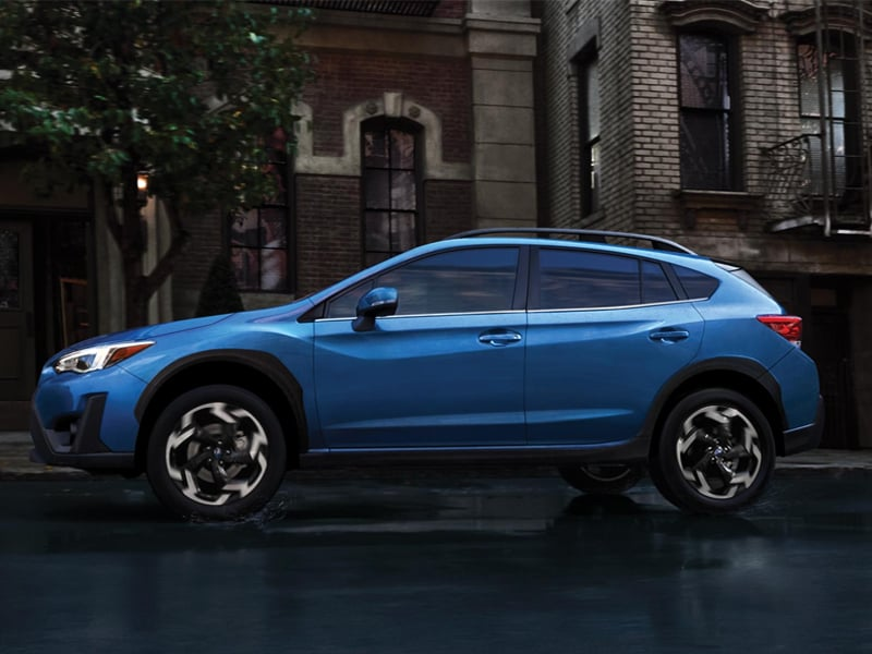 Flatirons Subaru - The 2021 Subaru Crosstrek has elegant style near Louisville CO