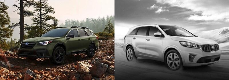 Review the 2020 Subaru Outback comparison in Boulder CO