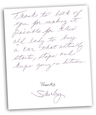 Letters From Our Satisfied Customers At Flatirons Subaru