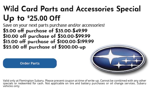 Wild Card Parts and Accessories Special