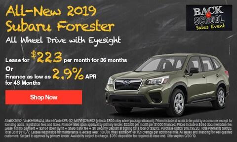 September 2019 Forester Special