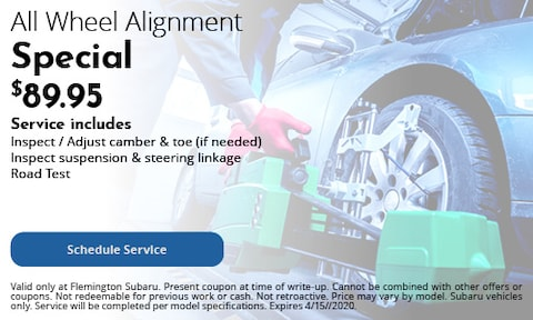 All Wheel Alignment Special