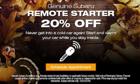 Genuine Remote Starter 20% Off