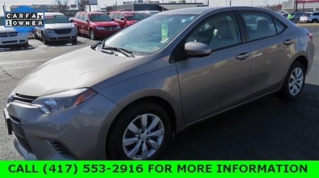 Used 2016 Toyota Corolla Sedan For Sale in Joplin, MO