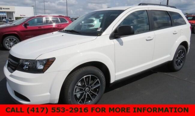 New 2018 Dodge Journey SE Sport Utility 3C4PDCAB1JT498606 For Sale/Lease Joplin, MO