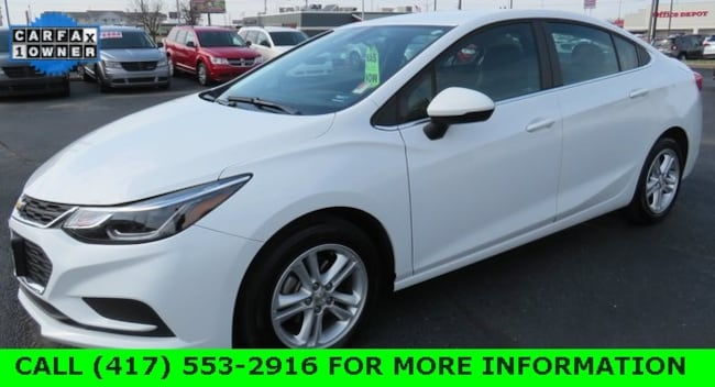 Used 2018 Chevrolet Cruze LT Auto Sedan For Sale in Joplin, MO