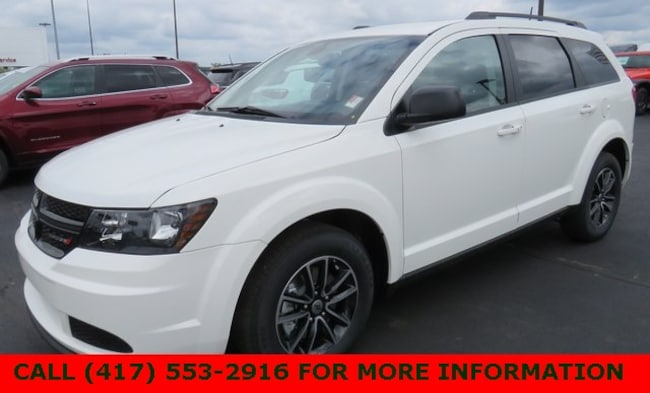 New 2018 Dodge Journey SE Sport Utility 3C4PDCAB7JT498609 For Sale/Lease Joplin, MO