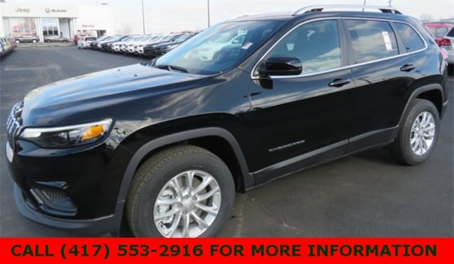 New 2019 Jeep Cherokee LATITUDE 4X4 Sport Utility 1C4PJMCX8KD336809 For Sale/Lease Joplin, MO