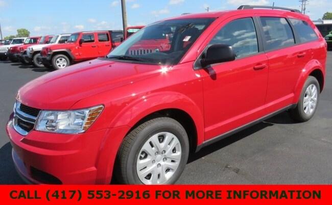New 2018 Dodge Journey SE Sport Utility 3C4PDCAB6JT496463 For Sale/Lease Joplin, MO