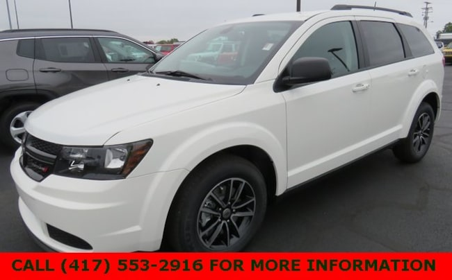 New 2018 Dodge Journey SE Sport Utility 3C4PDCAB5JT496485 For Sale/Lease Joplin, MO