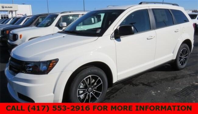 New 2018 Dodge Journey SE Sport Utility 3C4PDCABXJT508971 For Sale/Lease Joplin, MO