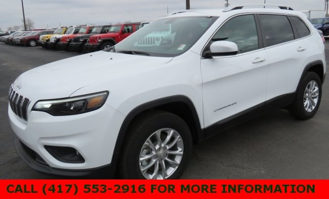 New 2019 Jeep Cherokee LATITUDE 4X4 Sport Utility 1C4PJMCX8KD233888 For Sale/Lease Joplin, MO