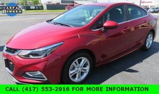 2017 Chevrolet Cruze LT Auto Sedan For sale in Joplin MO, near Bentonville