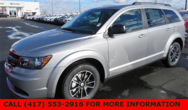 New 2018 Dodge Journey SE Sport Utility 3C4PDCAB1JT522077 For Sale/Lease Joplin, MO