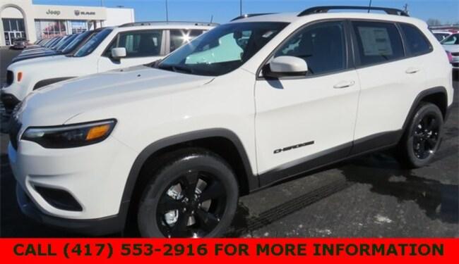 New 2019 Jeep Cherokee ALTITUDE 4X4 Sport Utility 1C4PJMLN3KD336845 For Sale/Lease Joplin, MO