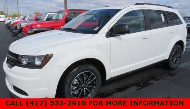 New 2018 Dodge Journey SE Sport Utility 3C4PDCAB5JT514077 For Sale/Lease Joplin, MO