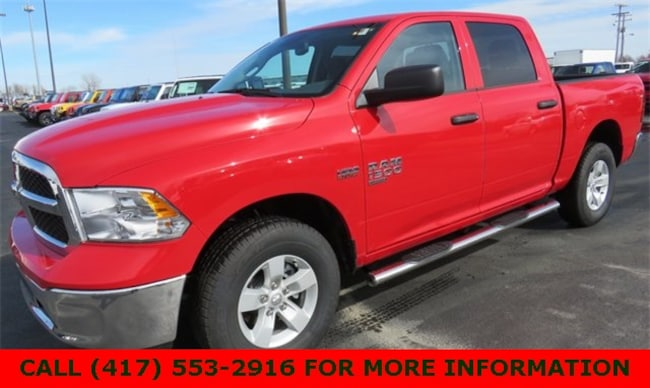 New 2019 Ram 1500 CLASSIC TRADESMAN CREW CAB 4X4 5'7 BOX Crew Cab 1C6RR7KT9KS591425 For Sale/Lease Joplin, MO