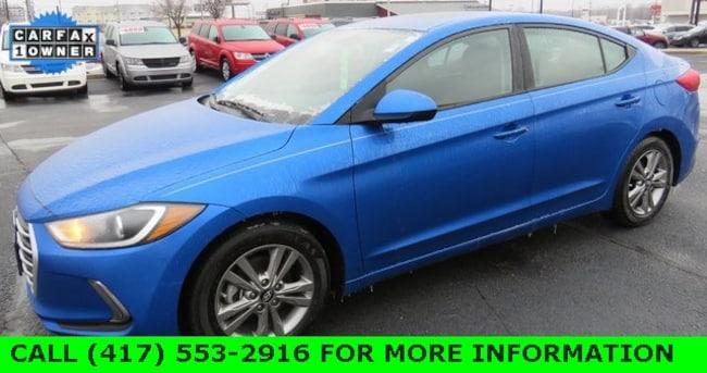 Used 2017 Hyundai Elantra Value Edition Sedan For Sale in Joplin, MO