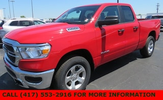 New 2019 Ram 1500 TRADESMAN QUAD CAB 4X4 6'4 BOX Quad Cab 1C6SRFCT0KN608914 for sale in Joplin, MO