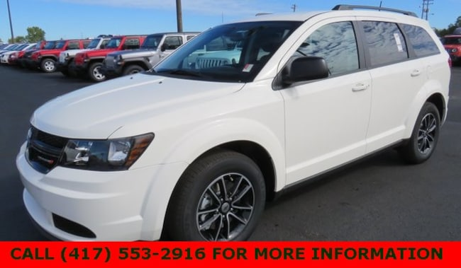 New 2018 Dodge Journey SE Sport Utility 3C4PDCAB3JT498607 For Sale/Lease Joplin, MO