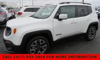 New 2018 Jeep Renegade LATITUDE 4X2 Sport Utility ZACCJABBXJPJ24414 for sale in Joplin, MO