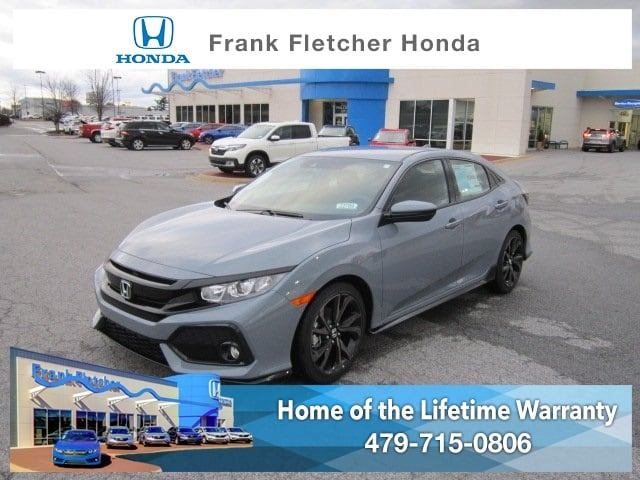 New 2019 Honda Civic Sport Hatchback Bentonville
