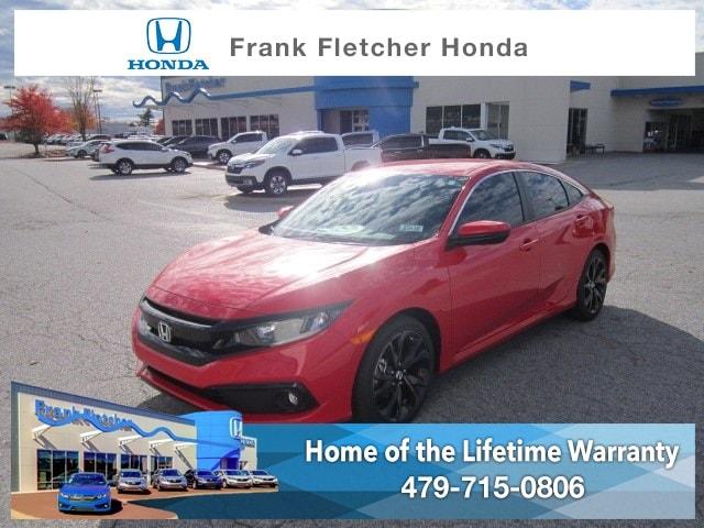New 2019 Honda Civic Sport Sedan Bentonville