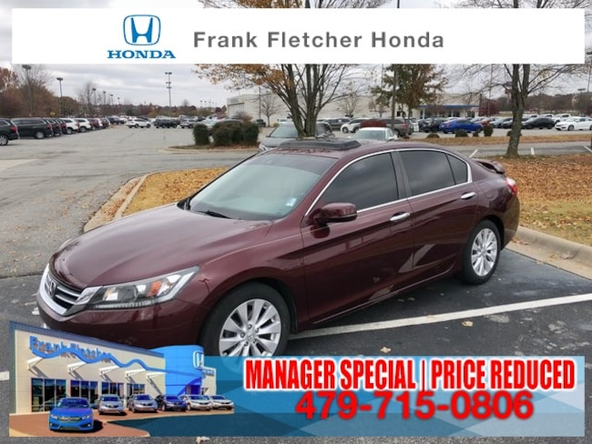Used 2015 Honda Accord EX-L Sedan Bentonville