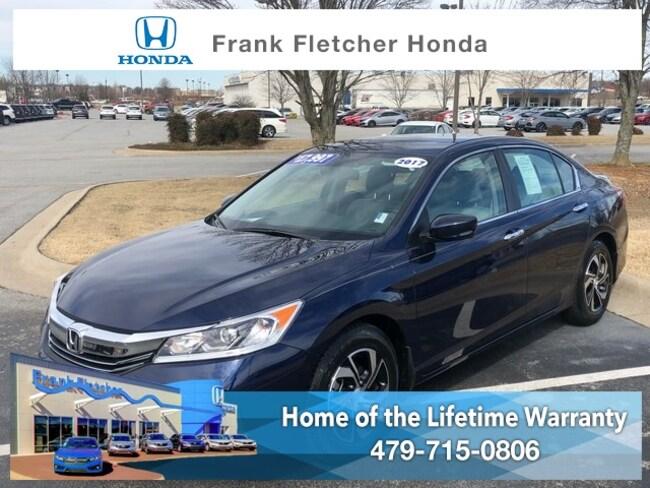 Used 2017 Honda Accord LX Sedan Bentonville