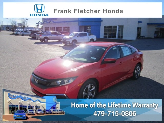 New 2019 Honda Civic LX Sedan Bentonville