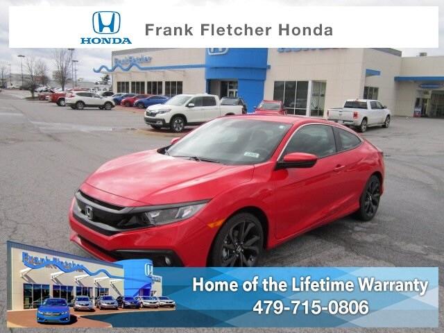 New 2019 Honda Civic Sport Coupe Bentonville