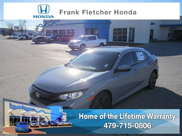 New 2019 Honda Civic EX Hatchback Bentonville