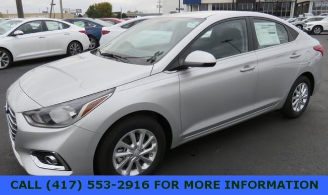 New 2019 Hyundai Accent SEL Sedan Joplin