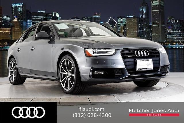 2016 Audi A4 Certified AWD Style pkg w/ 19s/Navi/Black Optic Sedan For Sale in Chicago, IL