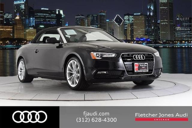 2013 Audi A5 Premium Plus w/ Navigation Cabriolet For Sale in Chicago, IL