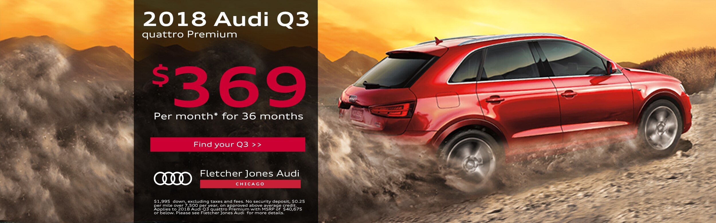 New Used Audi Dealership In Chicago IL Fletcher Jones Audi - Fletcher jones audi chicago