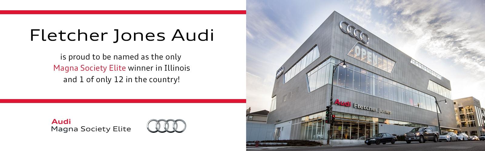 New Used Audi Dealership In Chicago IL At Fletcher Jones Audi - Audi dealers illinois