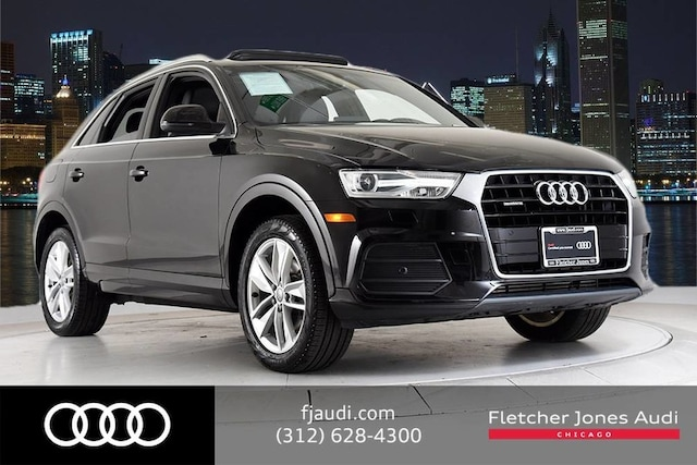 2017 Audi Q3 Certified Premium Plus w/ Technology SUV For Sale in Chicago, IL